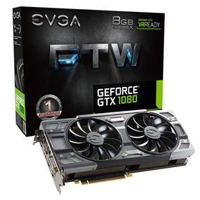 EVGA GeForce GTX 1080 FTW GAMING ACX 3.0 8GB (08G-P4-6286-KR)