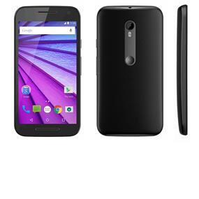 """Motorola Moto G 3rd Gen 5.0"""" Unlocked Smartphone - Black (Recertified - Good Condition)"""