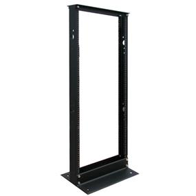 Tripp Lite 25U SmartRack 2-Post Open Frame Rack - Organize and Secure Network Rack Equipment