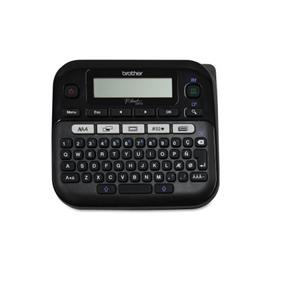 Brother PT-D210BK Easy-to-Use Label Maker, 20 mm/s Mono, 180 dpi, 20 mm / sec