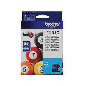 Brother LC201 Cyan High Yield Ink Cartridge (LC201CS)