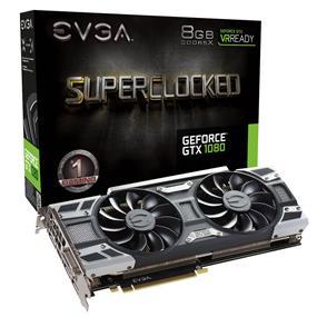 EVGA GeForce GTX 1080 SC GAMING ACX 3.0 8GB  (08G-P4-6183-KR)