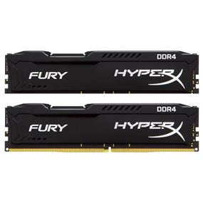 Kingston HyperX Fury Black Series 32GB (2x16GB) DDR4 2400MHz CL15 Dual-Channel DIMMs (HX424C15FBK2/32)