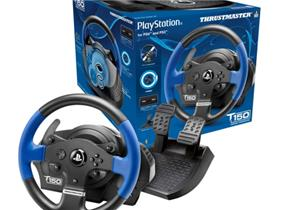 Thrustmaster T150 Racing Wheel and Pedals (PS3, PS4 and PC)