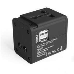 Avantree AC Plug Adapter with 2 USB Ports - TR851