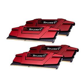 G.SKILL Ripjaws V 64GB (4x16GB) DDR4 2400MHz C15 Dual Channel Kit (F4-2400C15Q-64GVR)