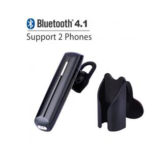 Avantree Bluetooth A2DP Headset - 5GS, Black, Stream music, noise cancellation, multipoint (BTHS-6G-BLK)