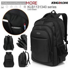 "KINGSLONG 15.6"" Notebook Backpack, Black (KLB1131340)"