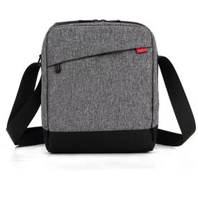 "KINGSLONG 10"" Tablet Messenger Bag, Linen Grey (KLM1130095)"