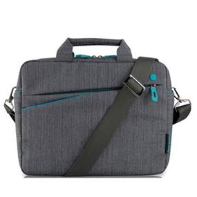 "KINGSLONG 15.6"" Notebook Messenger Bag, Linen Grey (KLM1310)"