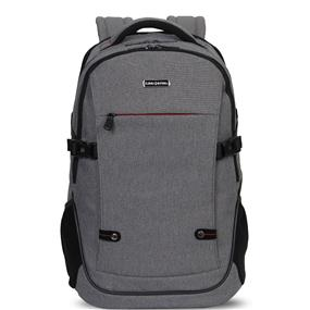 "KINGSLONG 15.6"" Notebook Backpack, One tablet PC compartment, Grey (KLB112846)"