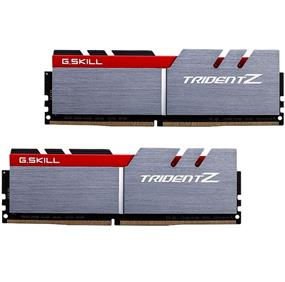 G.SKILL Trident Z Series 32GB (2x16GB) DDR4 DRAM 3333MHz C17 Memory Dual Channel Kit (F4-3333C16D-32GTZ)