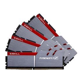 G.SKILL Trident Z Series 64GB (4x16GB) DDR4 DRAM 3400MHz C16 Memory Dual Channel Kit (F4-3400C16Q-64GTZ)