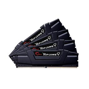 G.SKILL Ripjaws V Series 64GB (4x16GB) DDR4 DRAM 3400MHz C16 Quad Channel Memory Kit (F4-3400C16Q-64GVK)