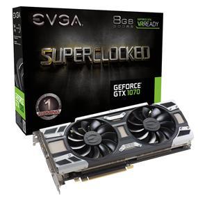 EVGA GeForce GTX 1070 SC Gaming ACX 3.0 8GB  (08G-P4-6173-KR)