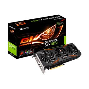 GIGABYTE GeForce GTX 1070 G1 GAMING 8GB (GV-N1070G1 GAMING-8GD REV2.0)