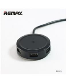 REMAX RU-05 Inspiron 3 USB 2.0 HUB-Black