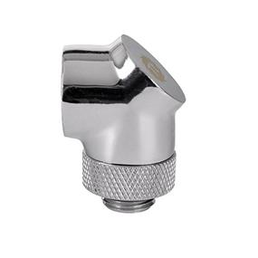 Thermaltake Pacific G1/4 90 Degree Adapter - Chrome/DIY LCS/Fitting (CL-W052-CU00SL-A)