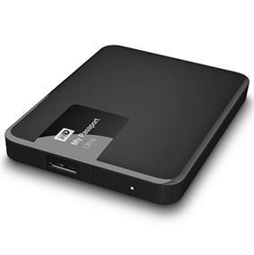 WD 4TB My Passport Ultra-Portable External Hard Drive Classic Black- WDBBKD0040BBK-NESN