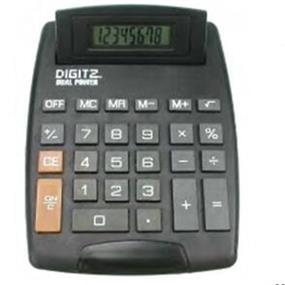 HRS Desktop Calculator (Battery included) - Black - CAL-612