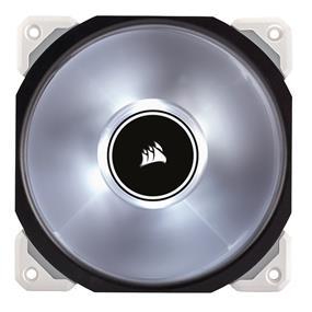 Corsair ML120 Pro LED, White, 120mm Premium Magnetic Levitation Case Fan (CO-9050041-WW)