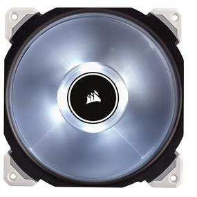 Corsair ML140 Pro LED, White, 140mm Premium Magnetic Levitation Case Fan (CO-9050046-WW)