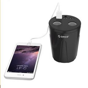 ORICO 3 Port USB Cup Car Charger with 2-portCigarette Lighter Interface (MP-3U2S)