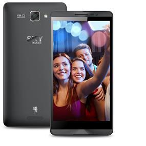"SKY 5.5L - 5.5"" Unlocked Dual SIM LTE Smartphone - Black"