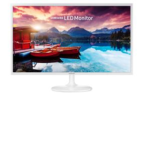 "Samsung LS32F351FUNXZA 31.5"" FHD White Monitor with Super slim design"