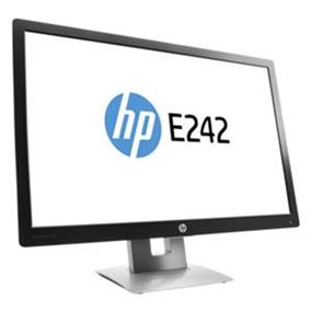 "HP EliteDisplay E242 24"" LED Monitor (M1P02A8#ABA) 1920 x 1200 16:10 7ms 5,000,000:1 16.7 Million Colors 250 cd/m2 HDMI VGA USB DisplayPort"