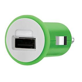 Belkin Mixit Car Charger (10 Watt/2.1 Amp) - 10 W Output Power - 5 V Dc Output Voltage - 2.10 A Output Current - Green (F8J002TTGRN)