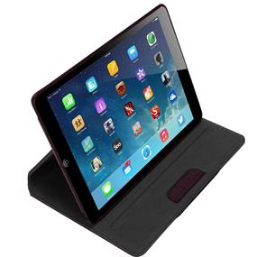 Targus Versavu Rotating Case for iPad Air, Black Cherry (THZ19602US)