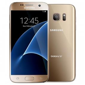 "Samsung Galaxy S7 Edge - 5.5"" Unocked Smartphone - Gold"