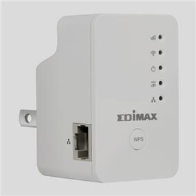 EDIMAX EW-7438RPn Mini 300Mbps Universal Wi-Fi Range Extender, Repeater, Wireless Bridge, Access Point, Wall Plug Design, Smart LED Signal Indicator, Easy Setup by Smartphone/Tablet(No CD Required)