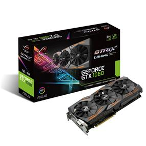 ASUS ROG Strix GeForce GTX 1060 6GB Gaming OC (STRIX-GTX1060-O6G-GAMING)