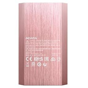 ADATA A10050 Power Bank / 10000mAh - Lithium-ion rechargeable battery 37.2Wh (AA10050-5V-CRG) Rose Gold