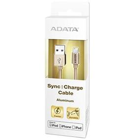 ADATA Sync & Charge Cable Aluminum 100cm Golden (AMFIAL-100CM-CGD)