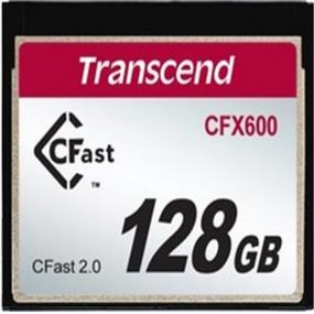 Transcend CFast2.0 600X 128GB SATA6Gb/s Up to 515MB/s Read, 160MB/s Write (TS128GCFX600)