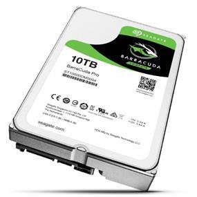 Seagate BarraCuda Pro 10TB 7200 RPM SATA6Gb/s 256MB 3.5'' Desktop Hard Drives (ST10000DM0004)