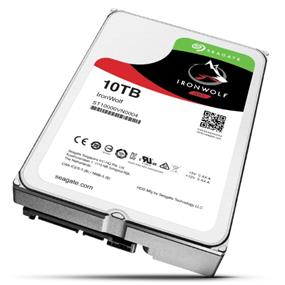 Seagate IronWolf 10TB SATA6Gb/s 256MB 3.5'' NAS Desktop Hard Drives (ST10000VN0004)