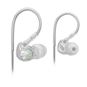 MEElectronics Sport-Fi M6 Memory Wire In-Ear Headphones (Clear)