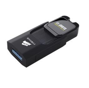 Corsair Flash Voyager Slider X1 USB 3.0 256GB Up to 130MB/s Read (CMFSL3X1-256GB)