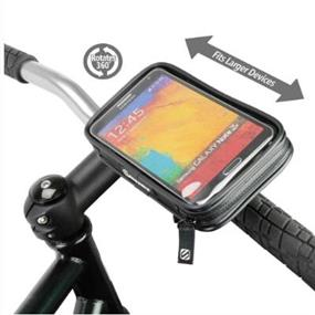 ScoSche Weather-resistant Handlebar Mount for Mobile Devices - larger smart phone