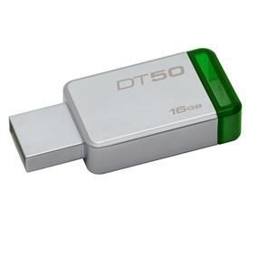 Kingston DT50 16GB USB 3.1 Gen 1 (USB 3.0) Upto 30MB/s Read USB Drive (DT50/16GBCR)