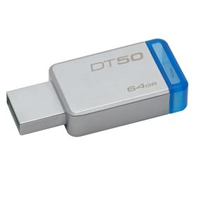 Kingston DT50 64GB USB 3.1 Gen 1 (USB 3.0) Upto 110MB/s Read USB Drive (DT50/64GBCR)