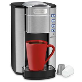Cuisinart Compact Single Serve Stainless Steel Coffeemaker
