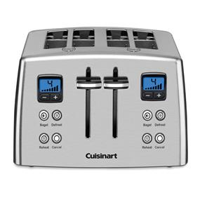 Cuisianrt 4-Slice Countdown Mechanical Toaster