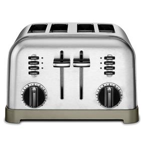 Cuisianrt 4-Slice Metal Classic Toaster