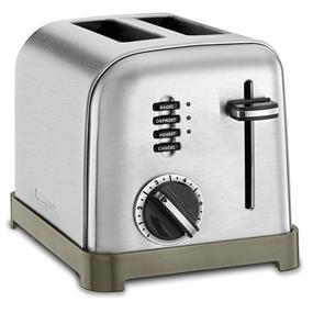 Cuisianrt 2-Slice Metal Classic Toaster