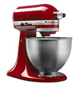 KitchenAid Ultra Power Series 4.5-Quart Tilt-Head Stand Mixer - Red (KSM95ER)